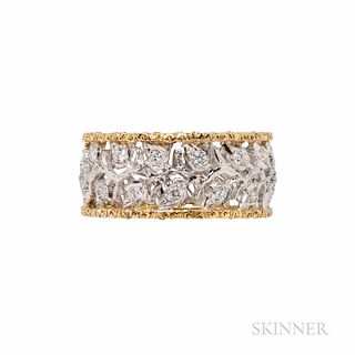 Mario Buccellati 18kt Gold and Diamond Ring