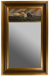 Nautical Trumeau Mirror