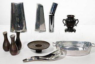 Modernist Metal Object Assortment