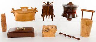 Artisan Signed Wood Box Assortment