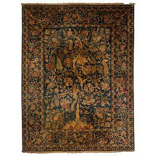 Persian Tree of Life Wool Area Rug