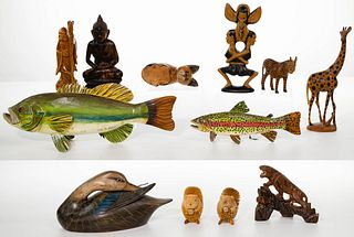 Carved Wood Assortment