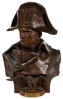 (After) Renzo Colombo (French / Italian, 1856-1885) 'Napoleon 1er' Bronze Bust