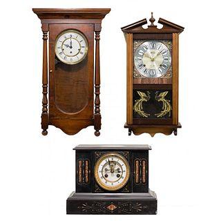 Wall and Mantel Clock Assortment