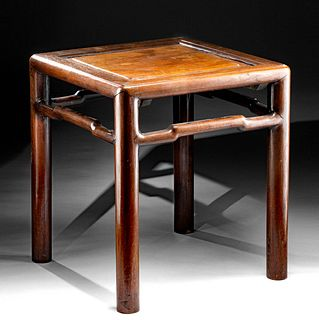19th C. Chinese Qing Dynasty Wooden Table