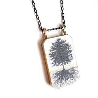 Tree/Roots Pendant