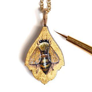Small Bumblebee Pendant