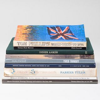 Large Group of Art Books and Exhibition Catalogs