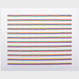Laura Grisi (1939-2017): Stripes