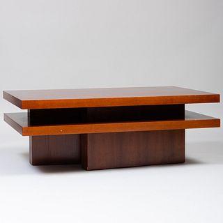 Modern Oak Low Table, Custom Made