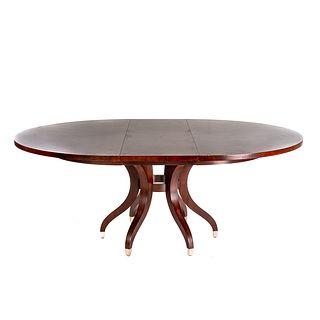 Ethan Allen Ashcroft Mahogany Dining Table
