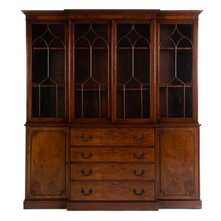 George III Mahogany Breakfront by Old Colony