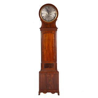 Scottish Regency Mahogany Tall Case Clock