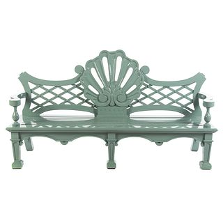 Oscar de la Renta Garden Seat Bench by Century