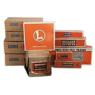 Lot of Lionel original boxes