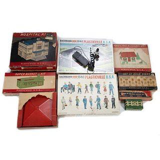 Plasticville boxed Kits