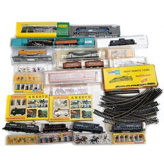 Lot of N Gauge Equipment and Parts