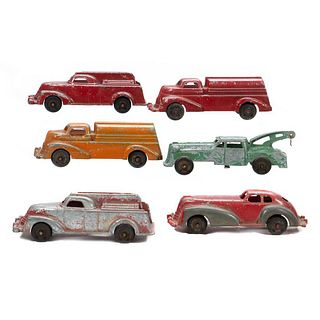 Manoil Die cast Vehicles