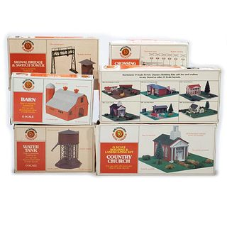 Plasticville O/S Scale Assorted Kits