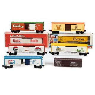 Lionel Reefers and Boxcars