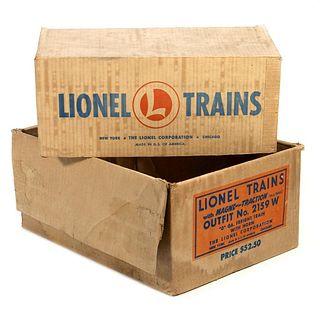 Lionel Original Boxes