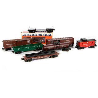 O Gauge Lionel Pennsylvania Rail Road (8) Freight Cars