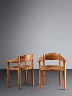 Rainer Daumiller (Danish, 20th Century) Pair of Armchairs, c. 1970