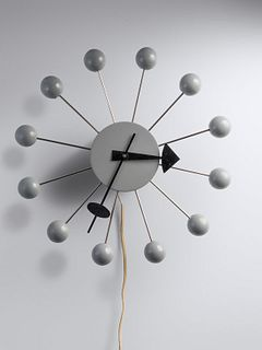 George Nelson & Associates (American, 1908-1986) Ball Wall Clock, model 4755