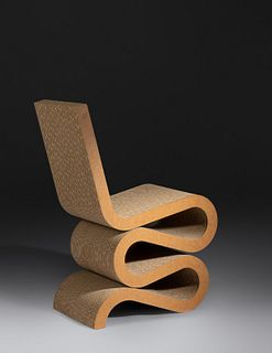 Frank Gehry (American, b. 1929) Wiggle Chair