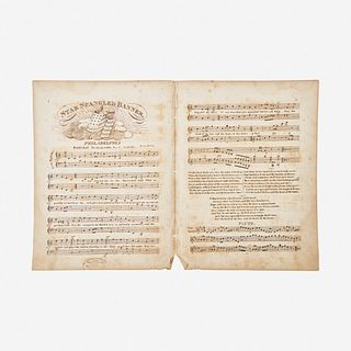 [Americana] (Key, Francis Scott) Star Spangled Banner