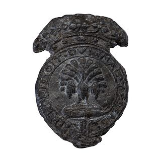 A Lead Funerary Badge for Thomas Manners, 1st Earl of Rutland