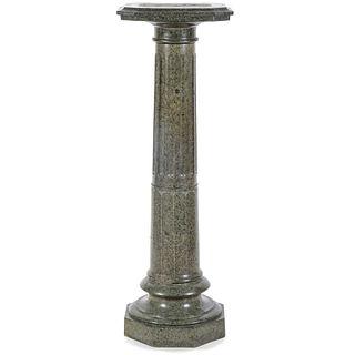 A Marble Column Form Pedestal