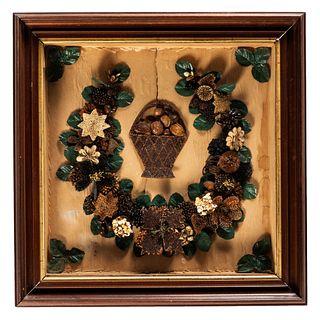 An English Seedwork Wreath