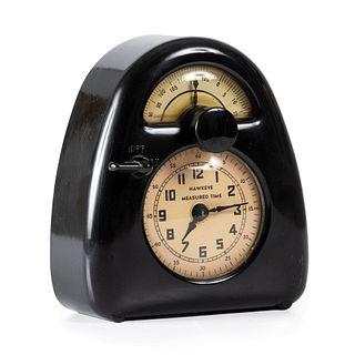 "An Isamu Noguchi ""Hawkeye Measured Time"" Clock and Kitchen Timer"