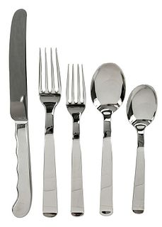 Set Tiffany Cambers Stainless Flatware
