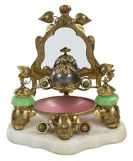 French Palais Royal Mirrored Vanity Set