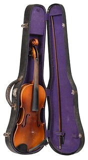 Full Size Violin and Bow