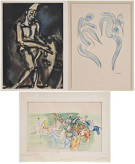 Three Prints After Matisse, Rouault, Dufy