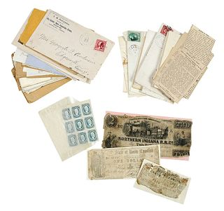 Letters Including Virginia, Tennessee, Civil War