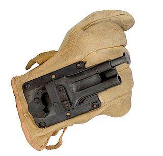 **Rare Sedgley OSS Glove Gun, Designed by Stanley M. Haight