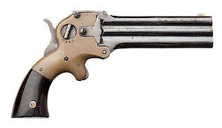 Wm. W. Marston Three-Barrel .32 Derringer
