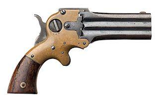 Wm. W. Marston Three-Barrel .32 Spur Trigger Derringer