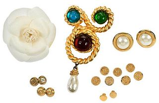 Group of Chanel Costume Jewelry