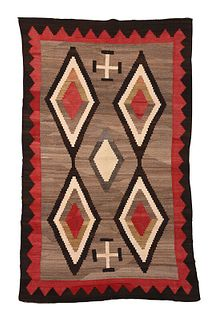 Crystal Style Navajo Weaving