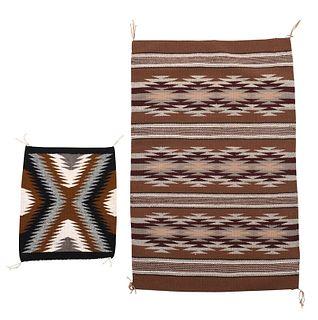 Two Navajo Weavings
