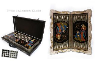 Special Edition Persian khatam Backgammon