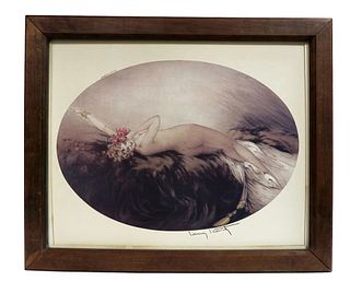 Venus Painting, Paris Signed Louis Icart (Circa 1928)