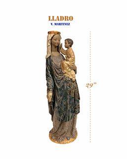 Ltd Edition LLADRO Madonna & Child by Vincente Martinez
