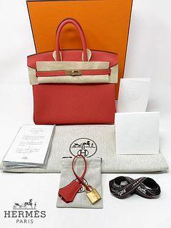 Hermes Birkin TGO Red Bag, Brand New