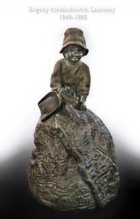 E. A. Lanceray (1848-1886), A Russian Bronze Bell